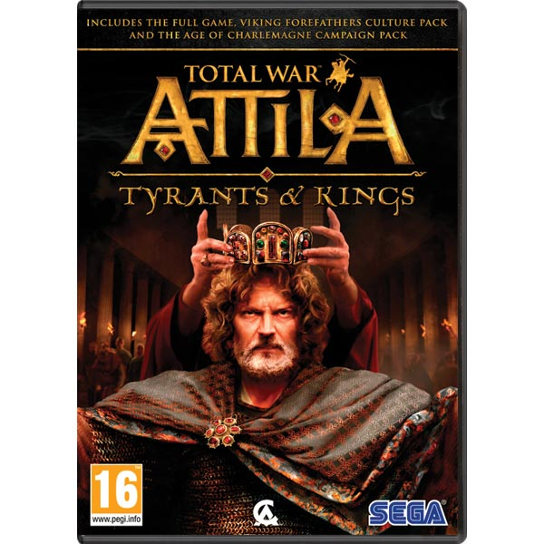 Total War Attila: Tyrants and Kings CZ PC