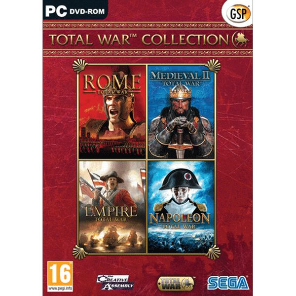 Total War Collection CZ PC