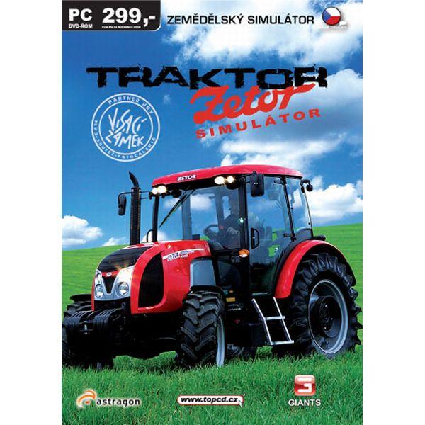 TRAKTOR - Zetor Simulátor 2009 CZ
