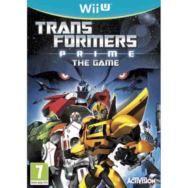 Transformers Prime: The Game Wii U