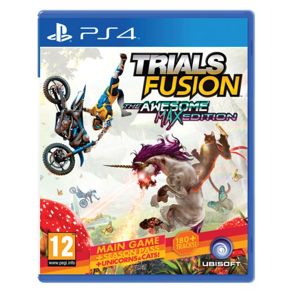 Trials Fusion (The Awesome Max Edition) PS4