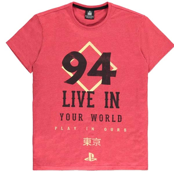 Tričko PlayStation Since 94 M