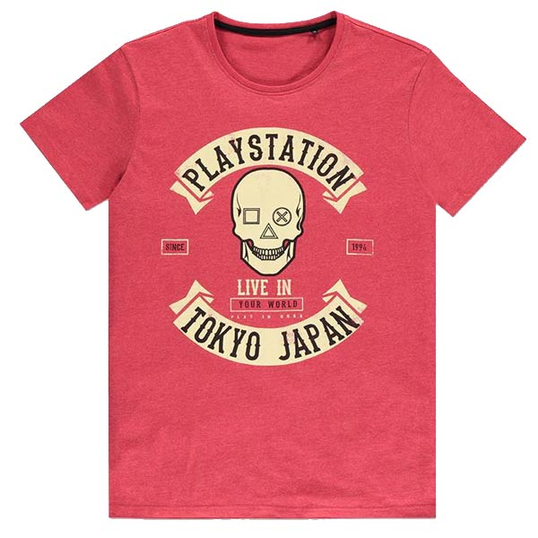 Tričko PlayStation Tokyo S