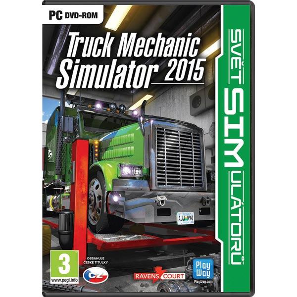 Truck Mechanic Simulator 2015 CZ