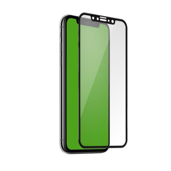 Tvrzené sklo SBS 4D Full Glass s aplikátorem pro iPhone 11 Pro/XS/X, black