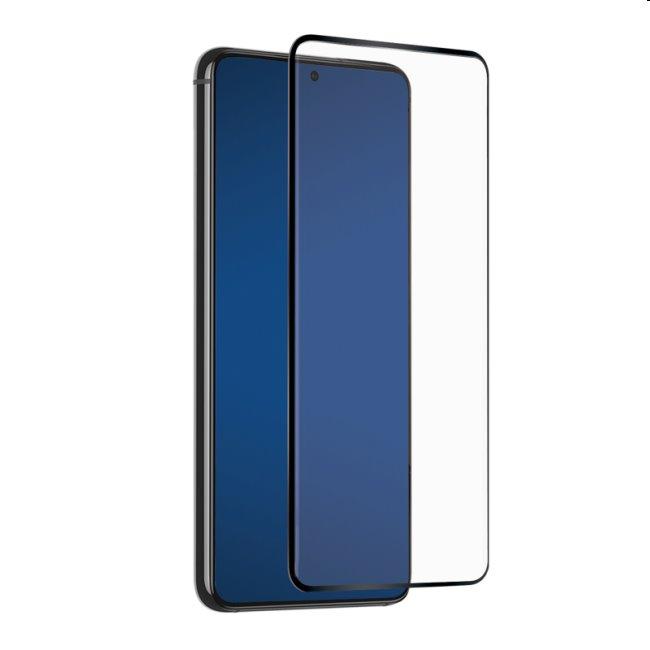 Tvrdené sklo SBS Full Cover pre Samsung Galaxy S21 - G991B, čierne