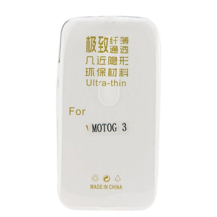Ultra tenké pouzdro pro Lenovo Moto G-XT1541, Transparent