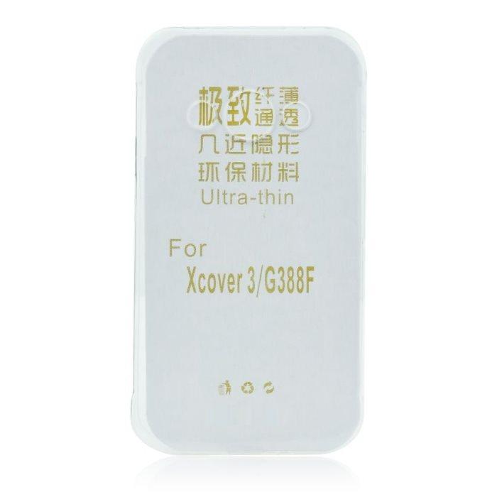 Ultra tenké pouzdro pro Samsung Galaxy Xcover 3-G388F, Transparent