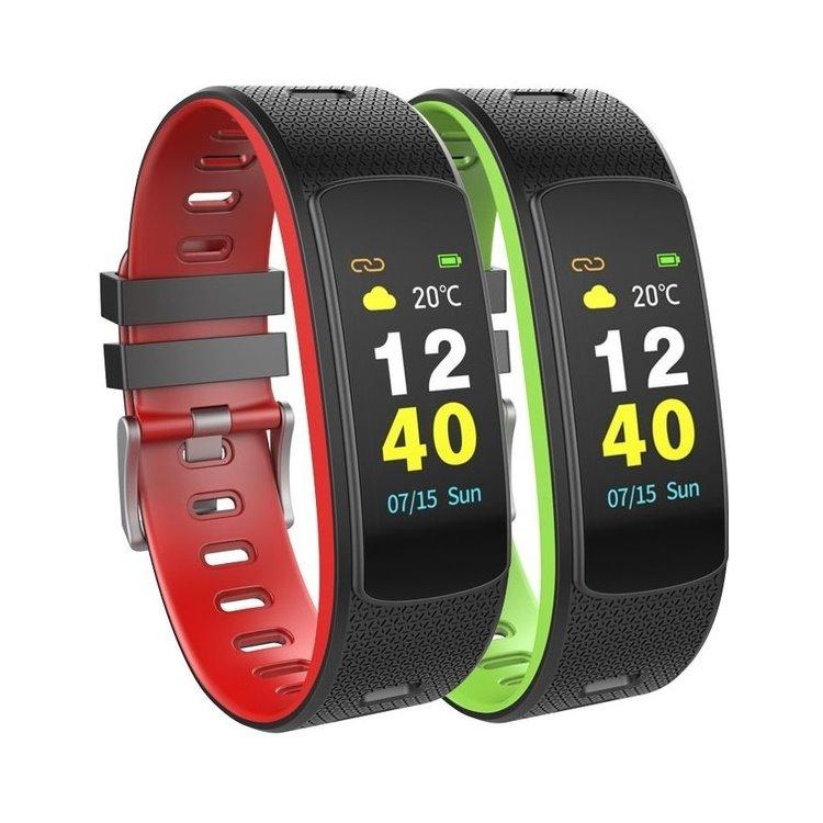 UMAX U-Band 116HR Color, fitness náramek, Black