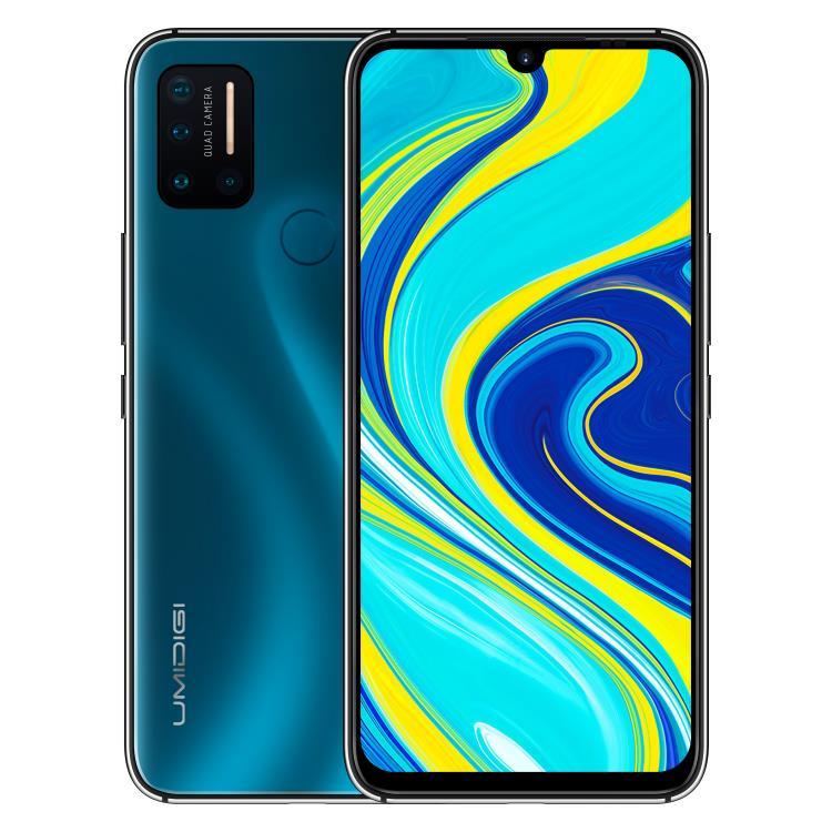 Umidigi A7 Pro, 4/128GB, Dual SIM, Ocean Blue-CS distribuce