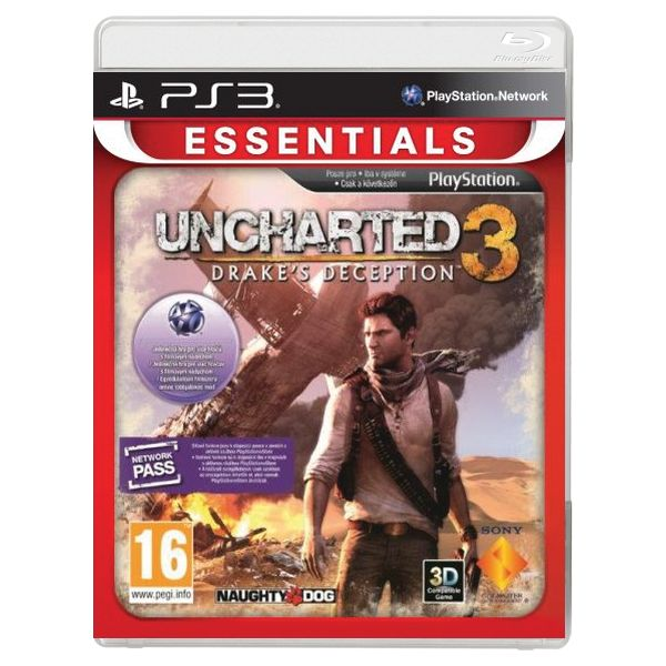 Uncharted 3: Drake's Deception CZ PS3