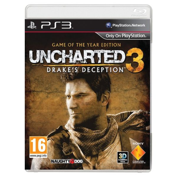 Uncharted 3: Drake 's Deception (Game of the Year Edition) PS3