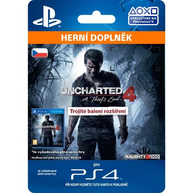 Uncharted 4: A Thief 's End CZ (CZ Triple Pack Expansion)