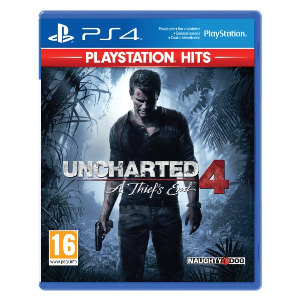 Uncharted 4: A Thief 's End CZ