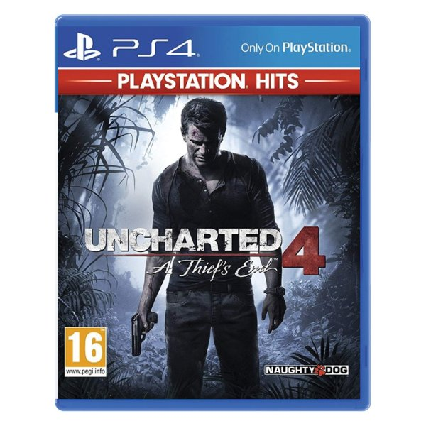 Uncharted 4: A Thief 's End PS4