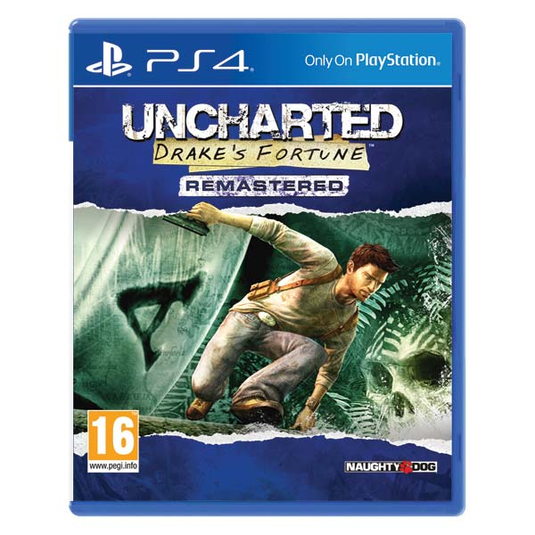 Uncharted: Drake 's Fortune (Remastered) PS4