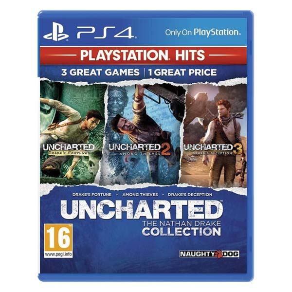 Uncharted: The Nathan Drake Collection CZ PS4