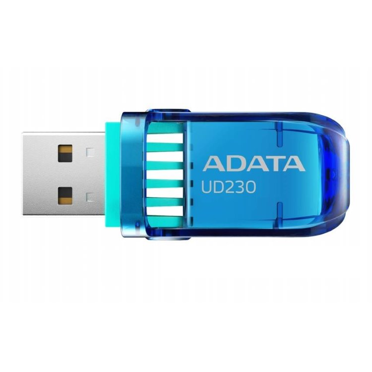 USB klíč A-DATA UD230, 32GB, USB 2.0, Blue (AUD230-32G-RBK)