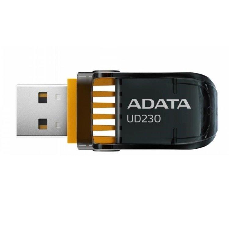 USB klíč A-DATA UD230, 64GB, USB 2.0, Black (AUD230-64G-RBK)