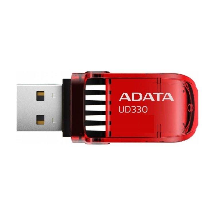 USB klíč A-DATA UD330, 64GB, USB 3.1, Red (AUD330-64G-RRD)