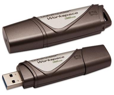 USB kľuč Kingston DataTraveler Workspace 32 GB, USB 3.0 - Rýchlosť čítania : 250 MB/s a zápisu: 250 MB/s