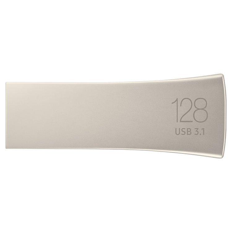 USB klíč Samsung BAR Plus, 128GB, USB 3.1-rychlost 300 MB/s (MUF-128BE3/EU), Silver