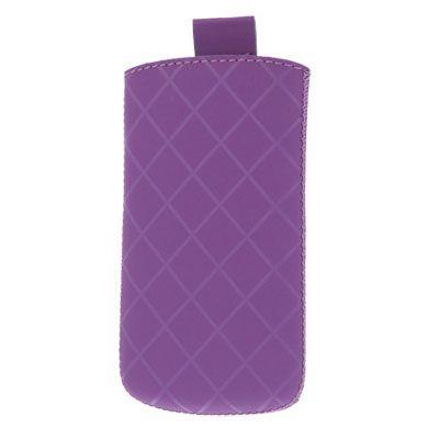 Valenta Pocket Neo Diamonds Violet, do velikosti 136.6 x 70.6 x 8.6 mm (Samsung Galaxy SIII, BlackBerry Z10)