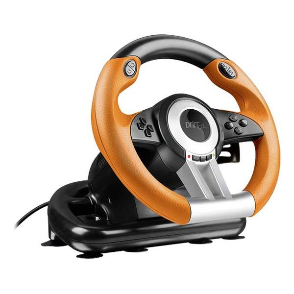 Volant Speedlink Drift O.Z.  Racing Wheel pro PS3, černo-oranžový