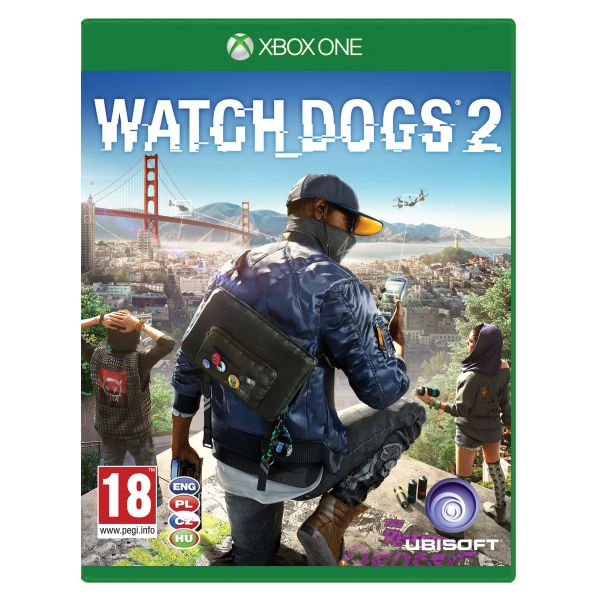 Watch_Dogs 2 CZ[XBOX ONE]-BAZAR (použité zboží)