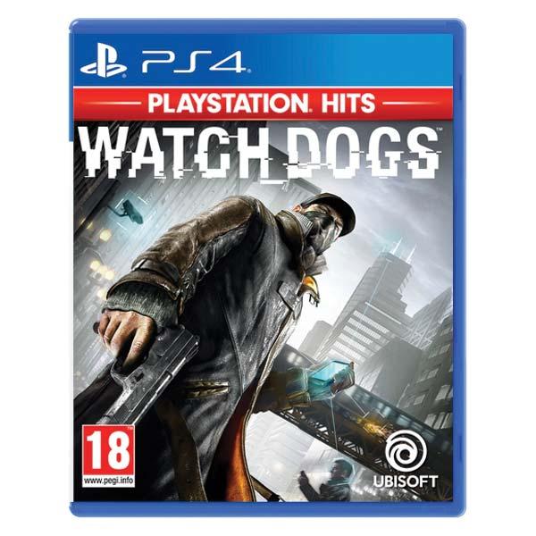 Watch Dogs CZ PS4