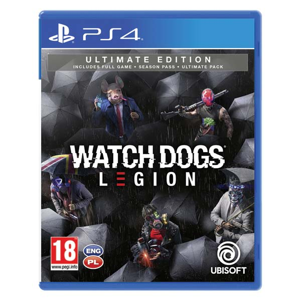 Watch Dogs: Legion (Ultimate Edition) PS4