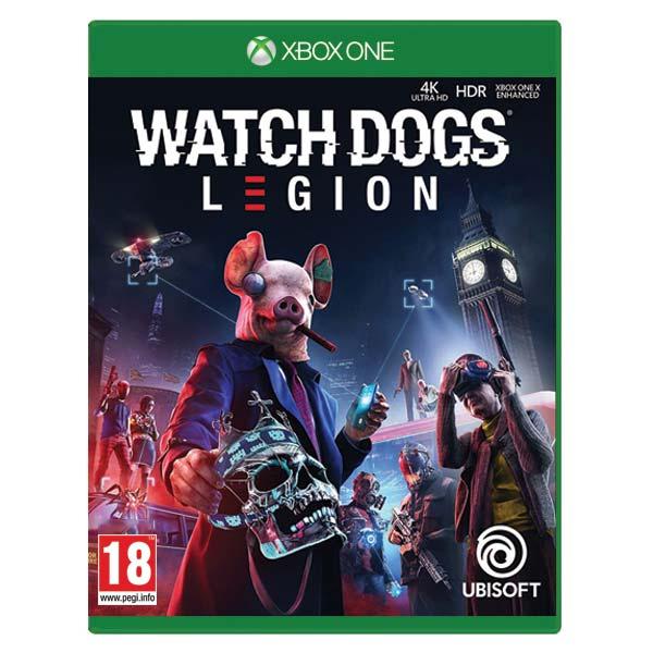 Watch Dogs: Legion [XBOX ONE] - BAZÁR (použitý tovar)