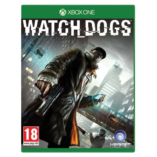 Watch_Dogs[XBOX ONE]-BAZAR (použité zboží)