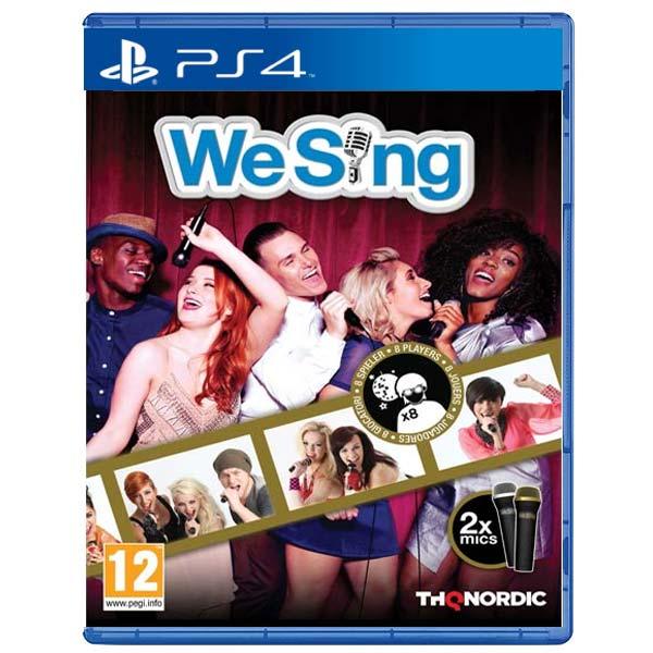 We Sing + 2 mikrofony (Microphone Bundle)[PS4]-BAZAR (použité zboží)