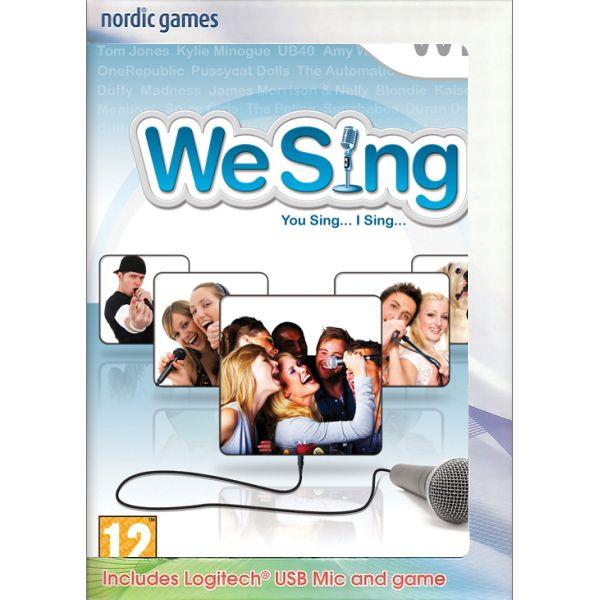 We Sing + mikrofon Wii