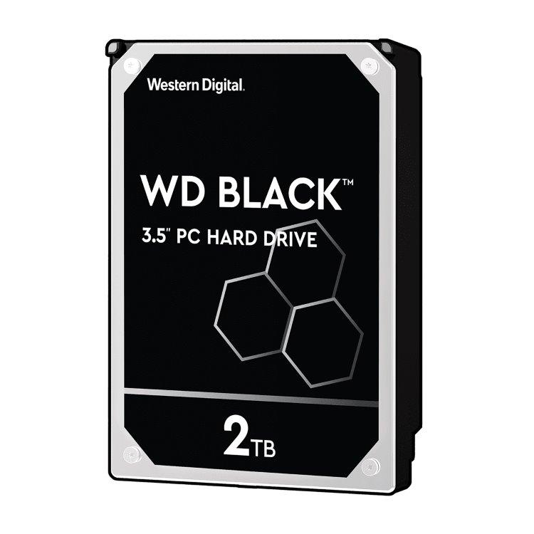 "Western Digital HDD Black, 2TB, 64MB Cache, 7200 RPM, 3.5""(WD2003FZEX)"
