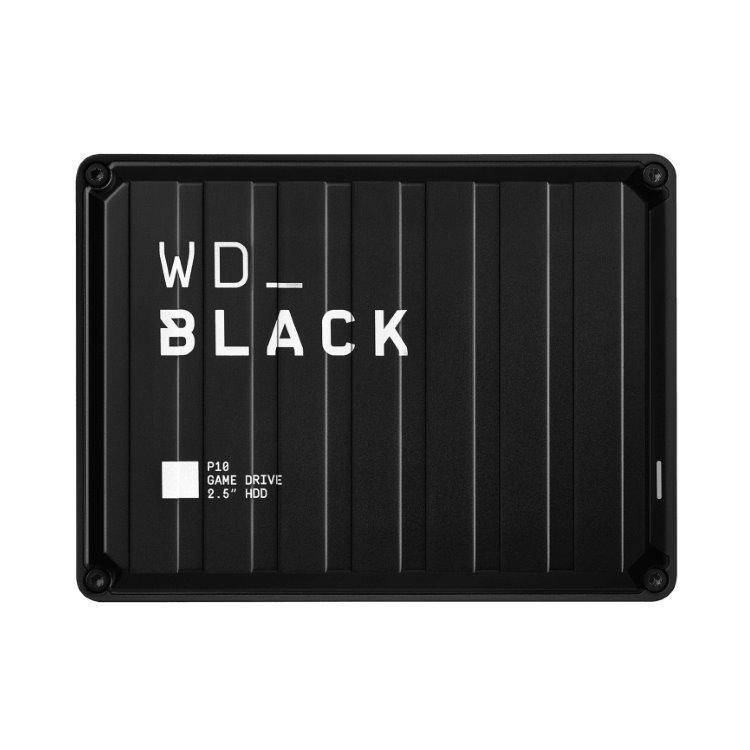 Western Digital HDD Black P10 Game Drive, 4TB (WDBA3A0040BBK-WESN)