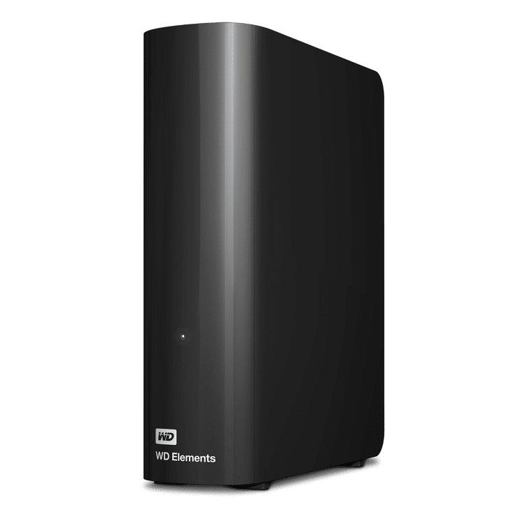 Western Digital HDD Elements Desktop, 4TB, USB 3.0 (WDBWLG0040HBK-EESN)