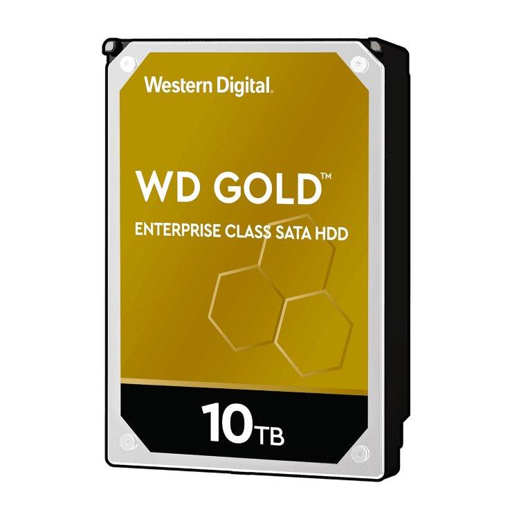 """Western Digital HDD Gold, 10TB, 256MB Cache, 7200 RPM, 3.5""""(WD102KRYZ)"""