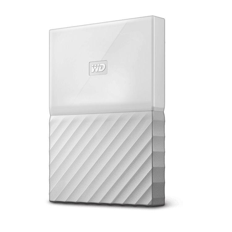 Western Digital HDD My Passport, 1TB, USB 3.0, White (WDBYNN0010BWT-WESN)