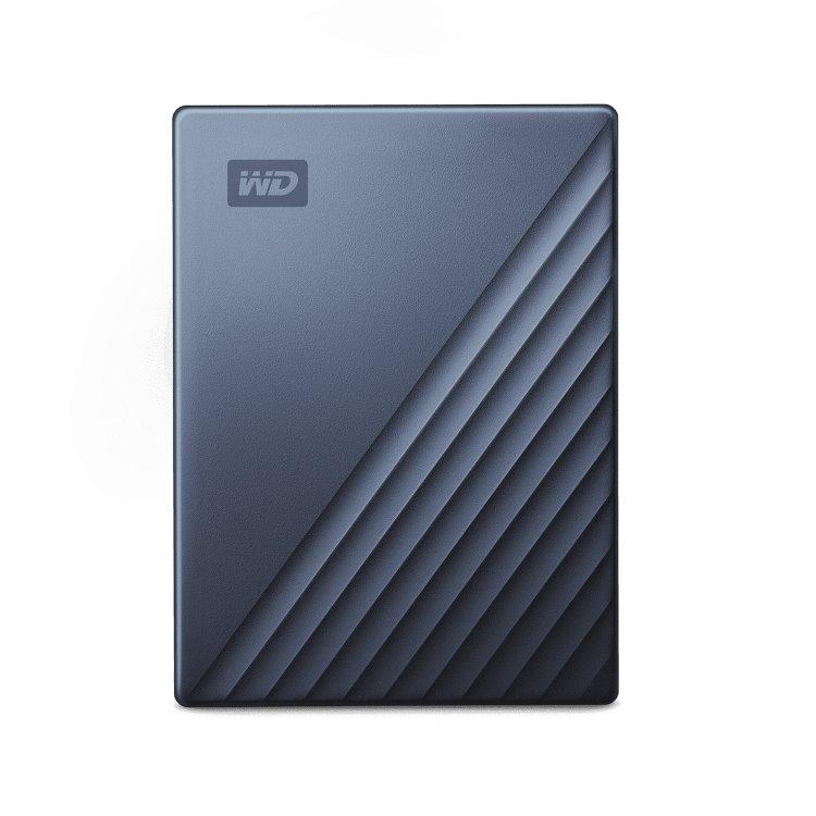 Western Digital HDD My Passport Ultra, 2TB, USB-C, Grey (WDBC3C0020BBL-WESN)