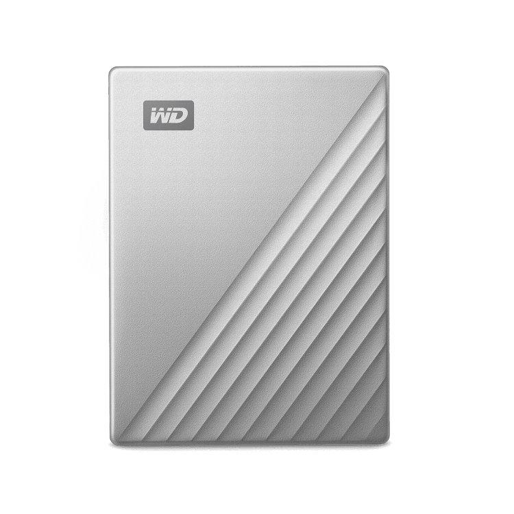 Western Digital HDD My Passport Ultra, 2TB, USB-C, Silver (WDBYVG0020BBK-WESN)