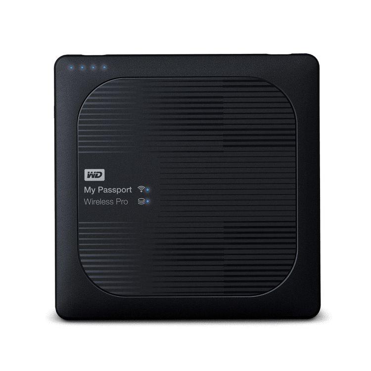 Western Digital HDD My Passport Wireless Pro, 3TB, USB 3.0 (WDBSMT0030BBK-EESN)