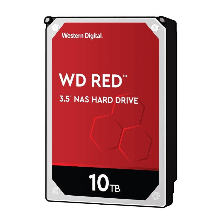 "Western Digital HDD Red, 10TB, 256MB Cache, 5400 RPM, 3.5""(WD100EFAX)"