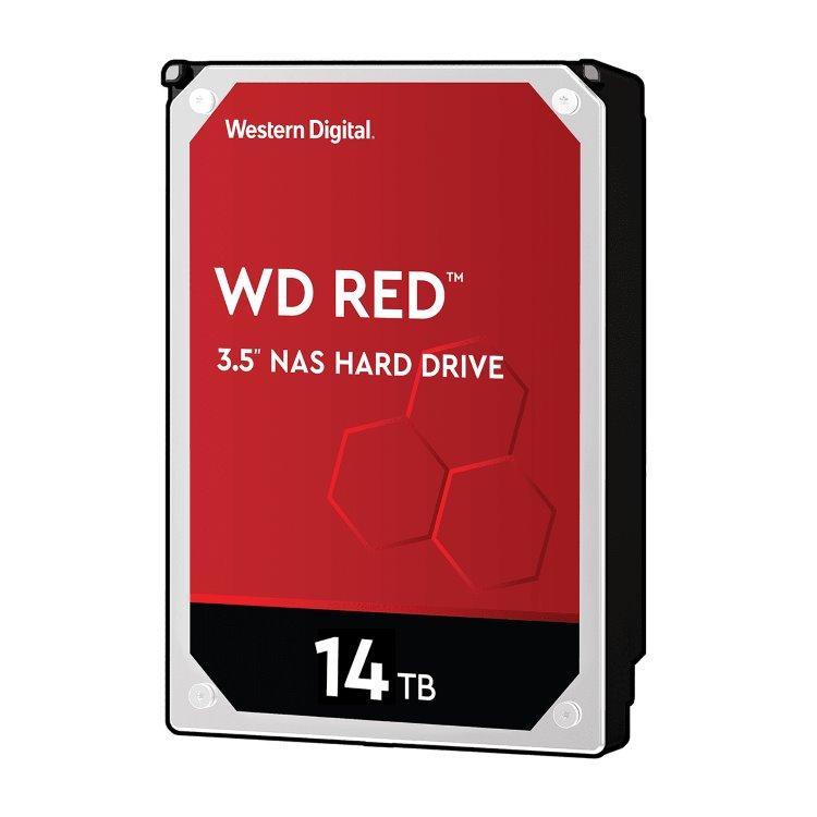 """Western Digital HDD Red, 14TB, 512MB Cache, 5400 RPM, 3.5""""(WD140EFFX)"""