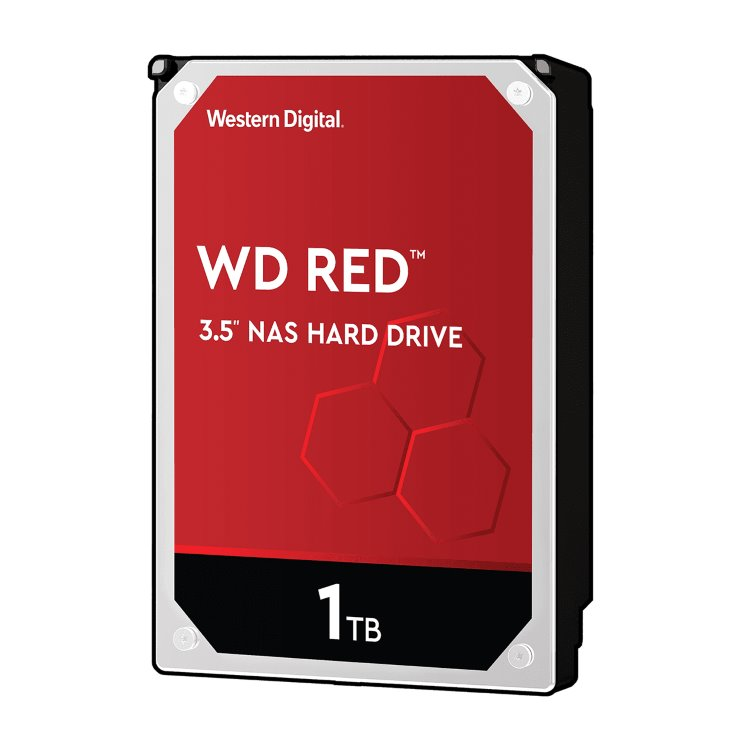 """Western Digital HDD Red, 1TB, 64MB Cache, 5400 RPM, 3.5""""(WD10EFRX)"""