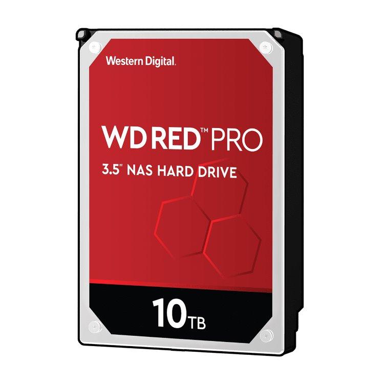 "Western Digital HDD Red Pro, 10TB, 256MB Cache, 7200 RPM, 3.5""(WD101KFBX)"