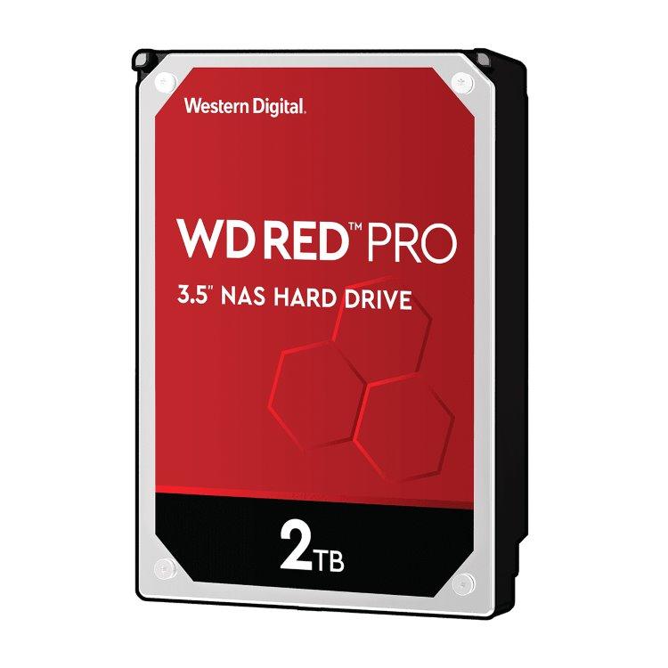 "Western Digital HDD Red Pro, 2TB, 64MB Cache, 7200 RPM, 3.5""(WD2002FFSX)"