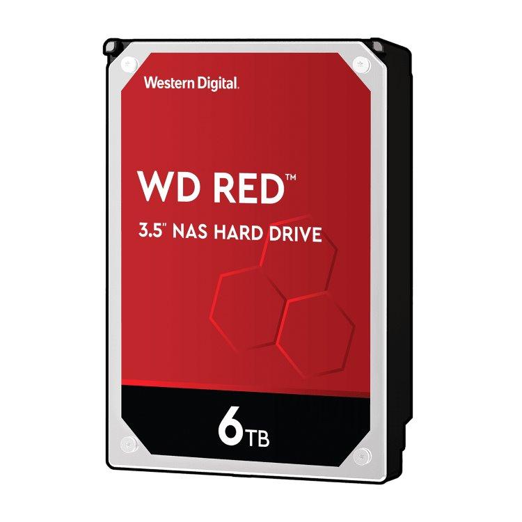 "Western Digital HDD Red Pro, 6TB, 256MB Cache, 7200 RPM, 3.5""(WD6003FFBX)"