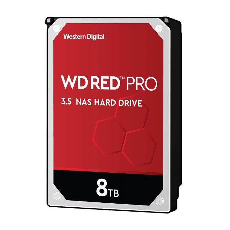 "Western Digital HDD Red Pro, 8TB, 256MB Cache, 7200 RPM, 3.5""(WD8003FFBX)"